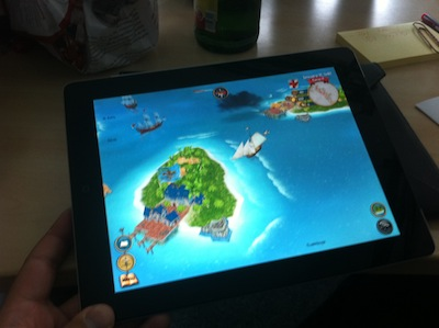 Sid Meier's Pirates for iPad