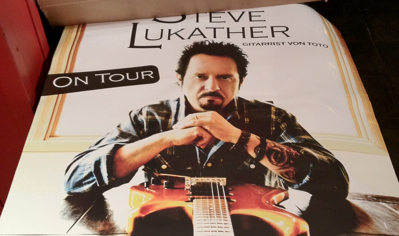 Steve Lukather on Tour