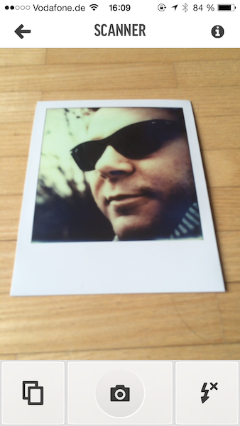 Impossible Instant Lab app