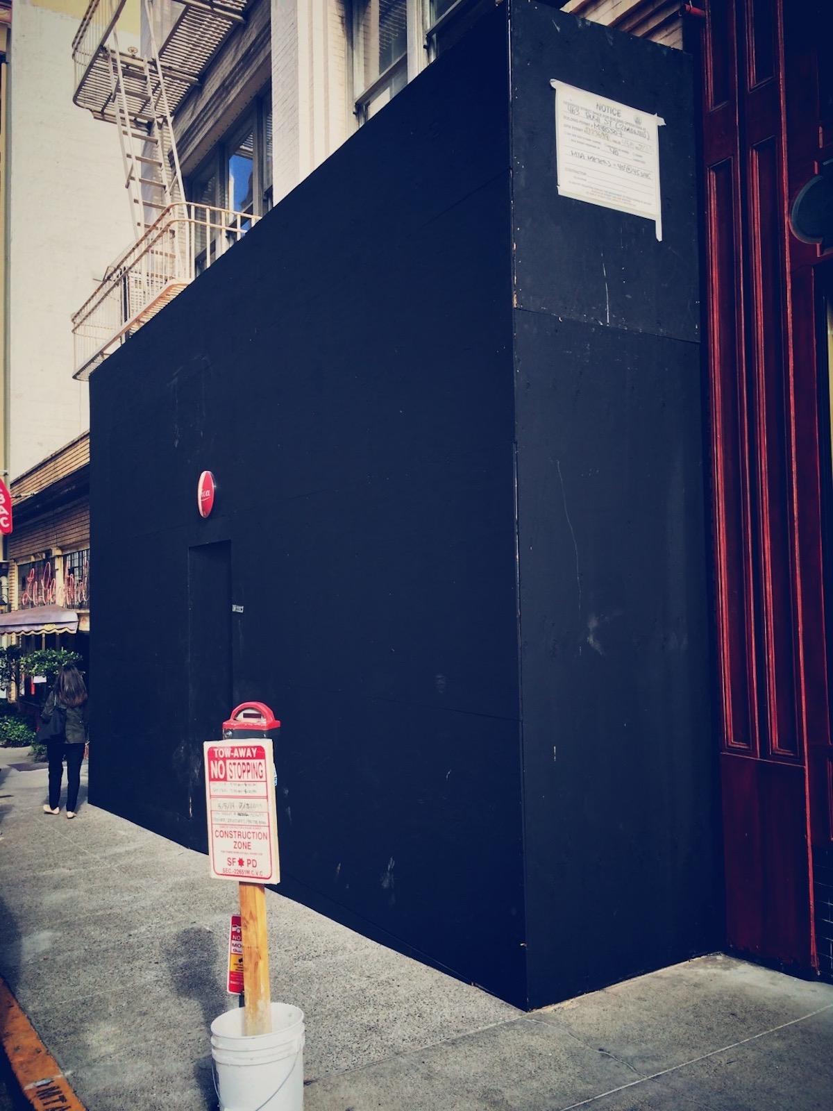 Leica Store San Francisco Construction