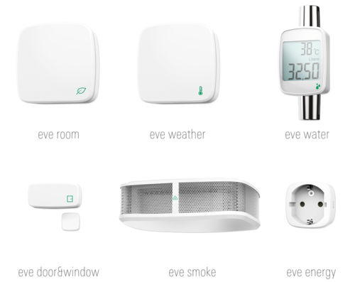 eve homeKit Accessories