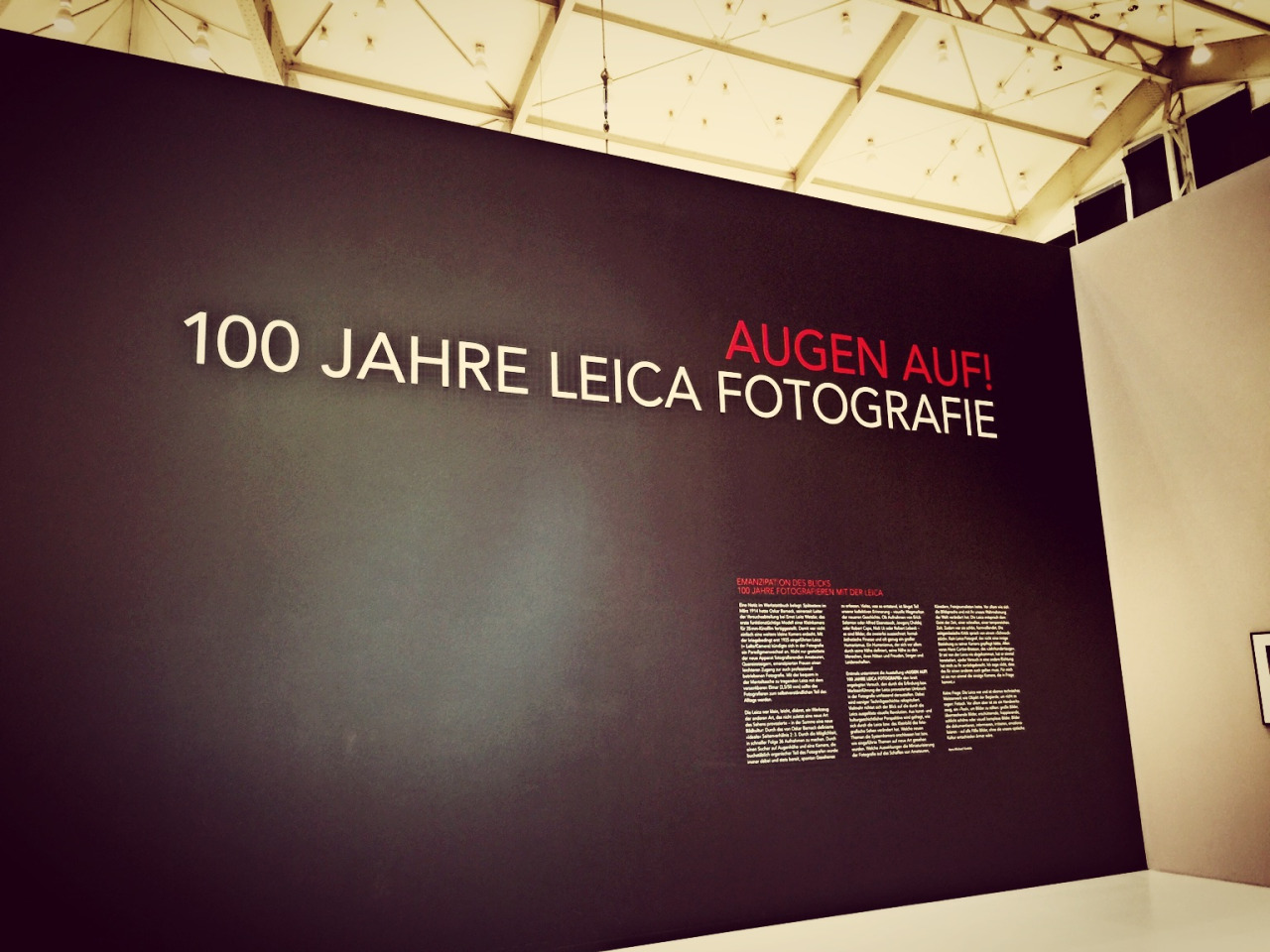 Leica - 100 exhibition
