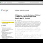Case Study - Google Apps for Business im Einsatz bei Scholz & Friends