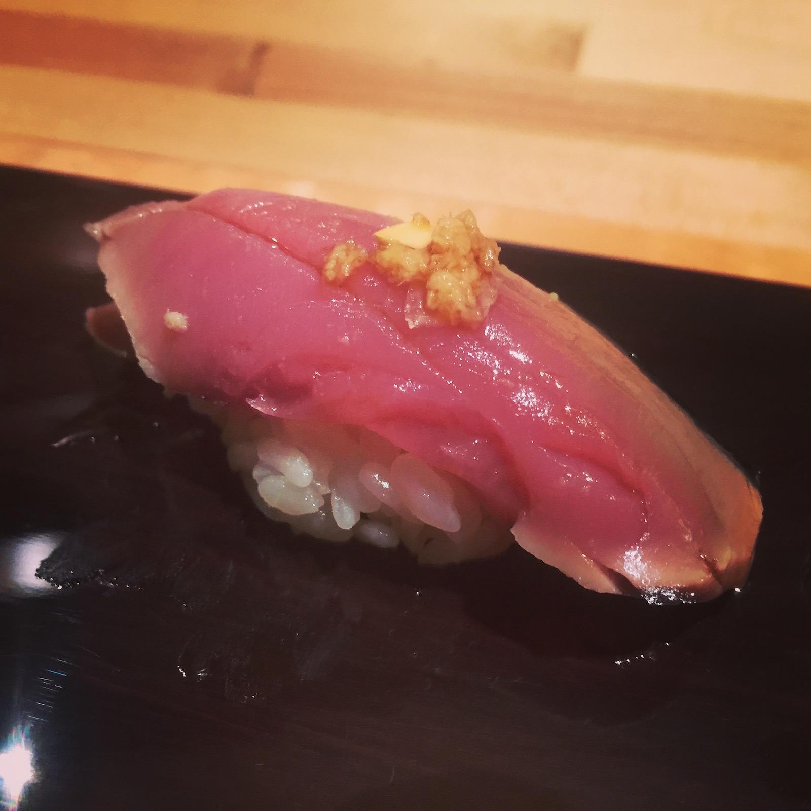 Sushi Ran - katsuo nigiri
