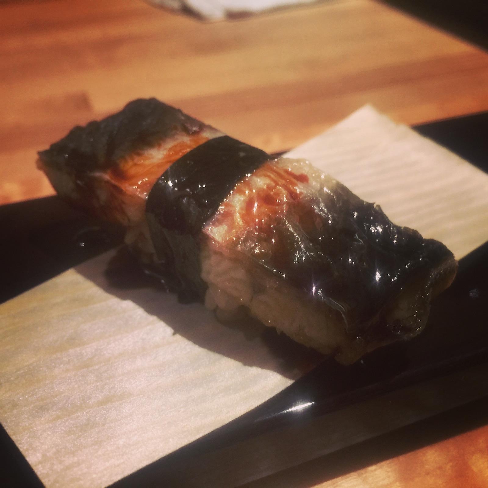 Sushi Ran - shirayaki nigiri