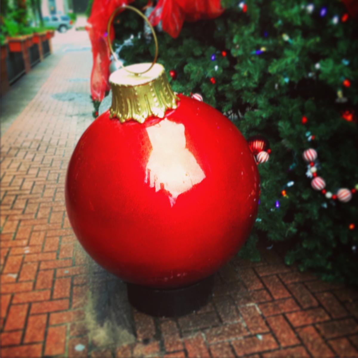 Christmas Decoration on Fulton St.