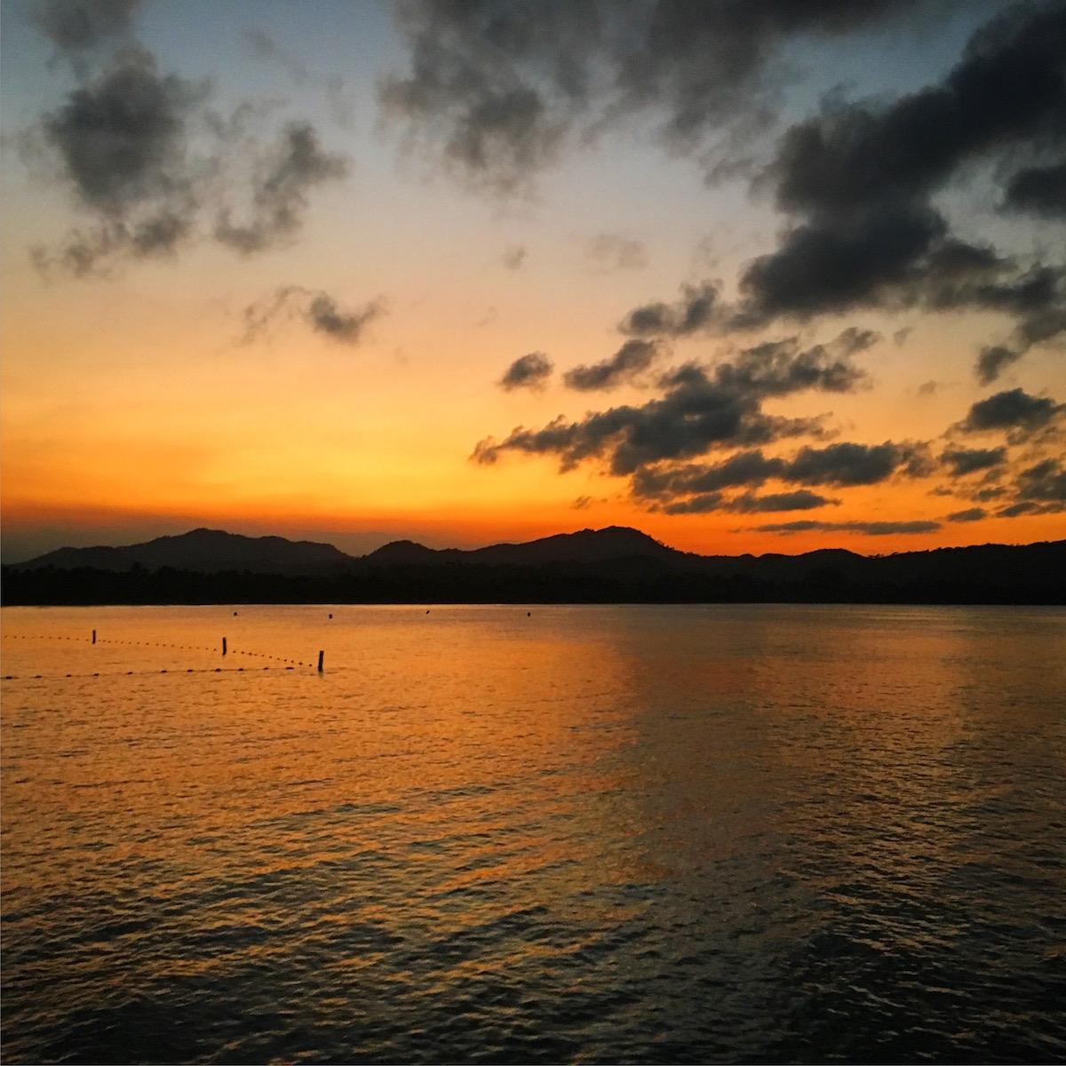 Dominican Republic - Amber Cove sunset