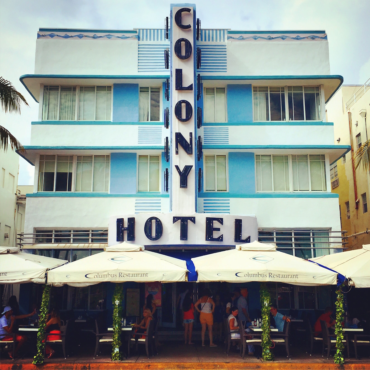 Miami Beach - Ocean Drive - Colony Hotel