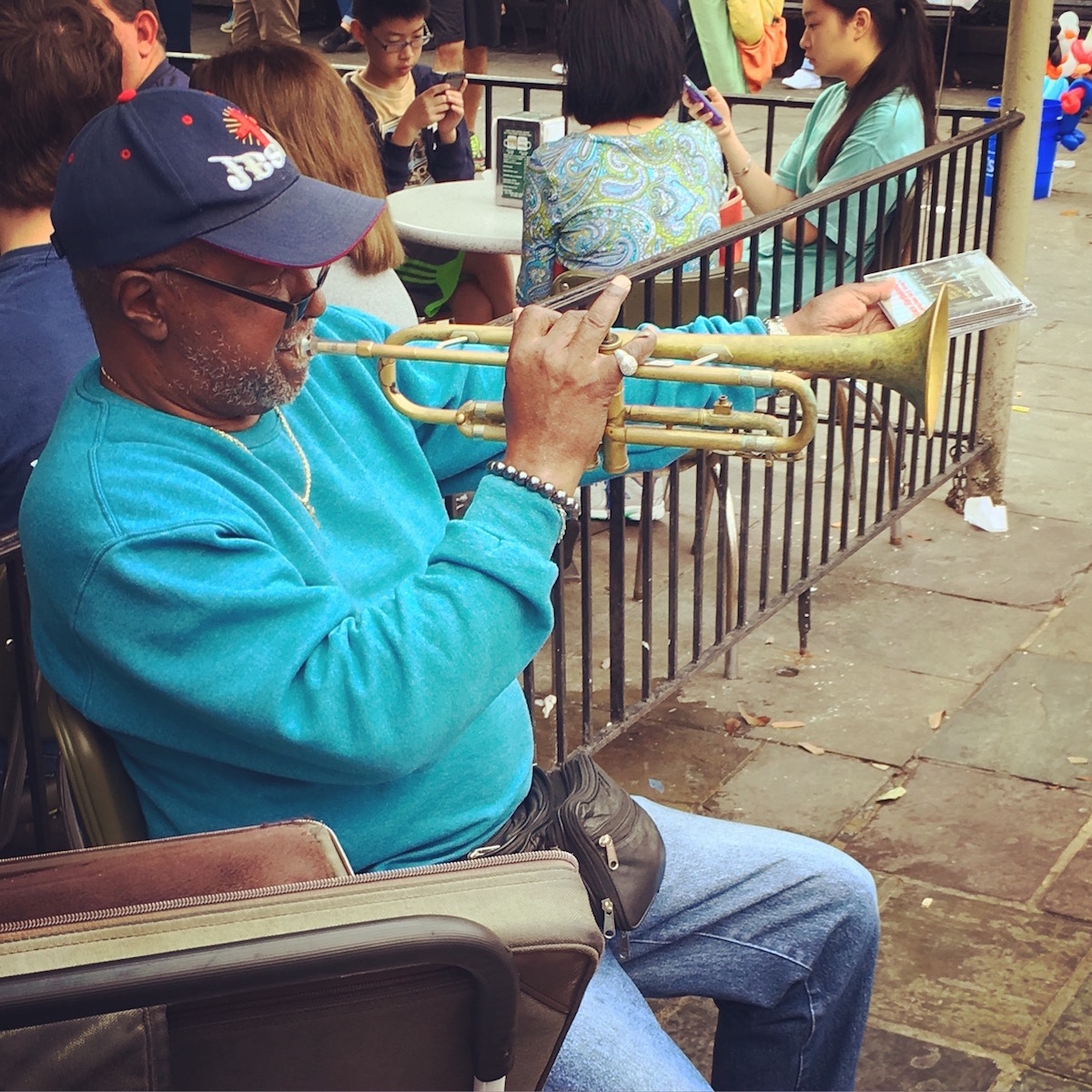 Street Music in New Orleans - 1