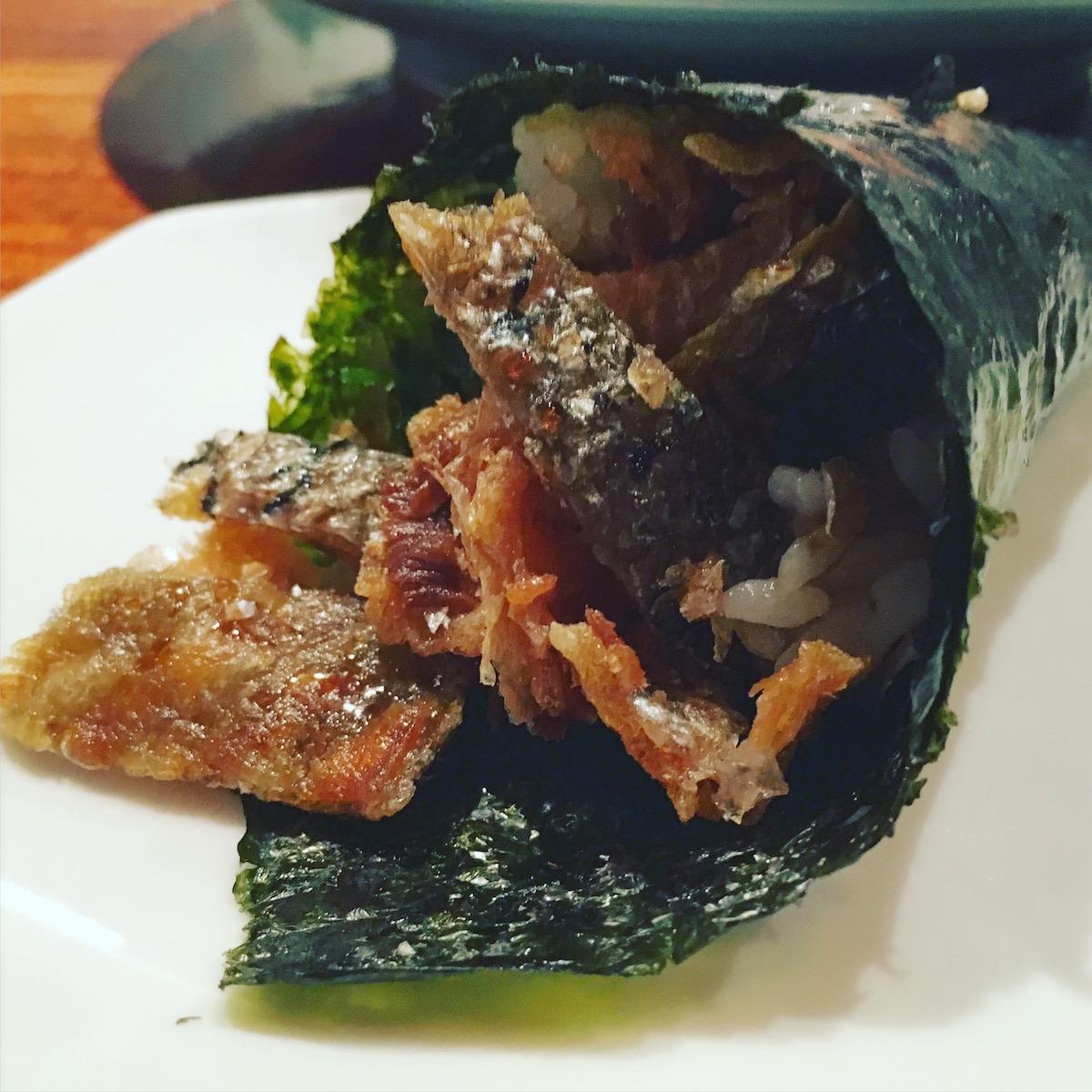 Toni's Sushi Bar - sake cava temaki