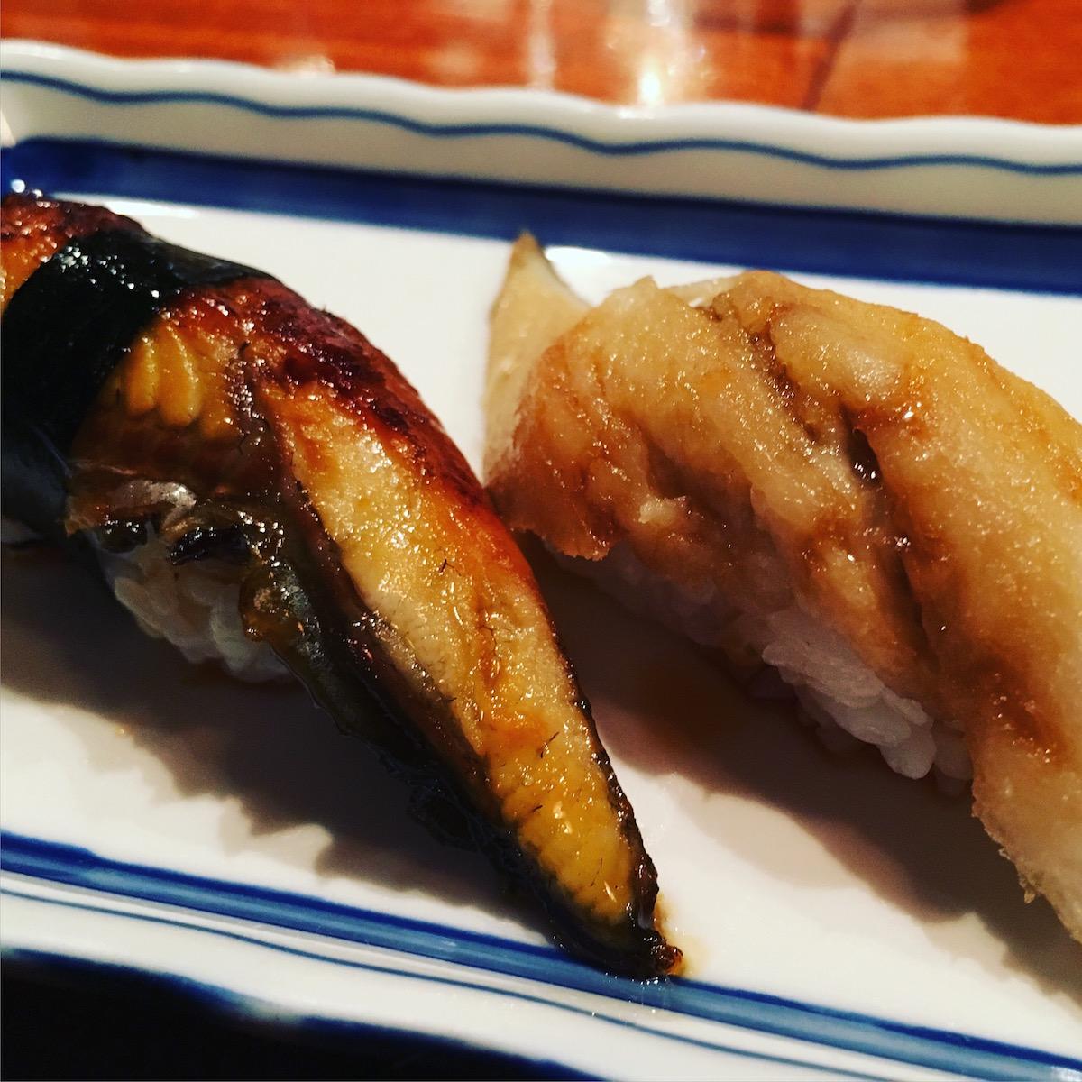 Toni's Sushi Bar - unagi, anago