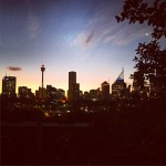 Sunset in Potts Point
