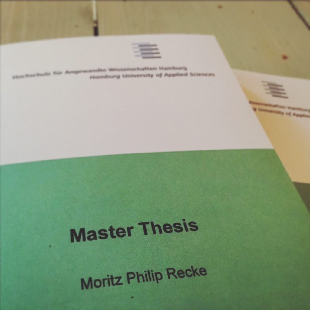 Master thesis entrepreneurship