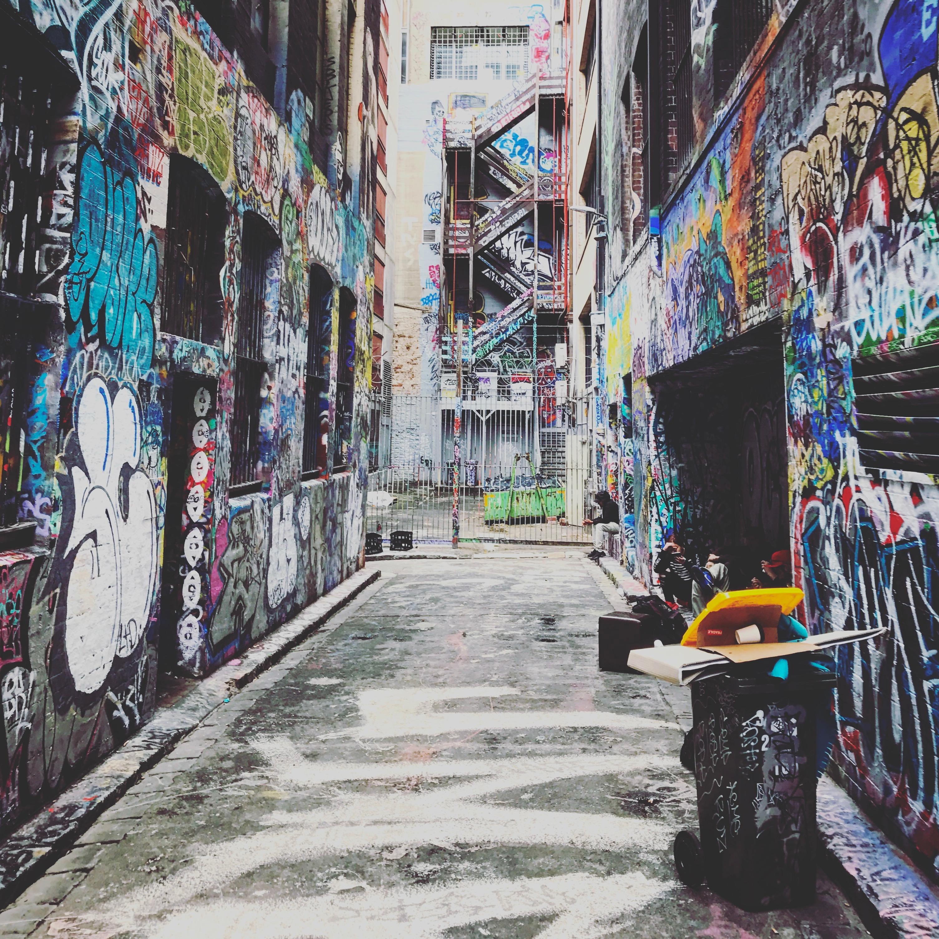 Melbourne Hosier Lane