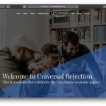 Journal of Universal Rejection