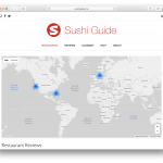 Sushi Guide - Overview Map