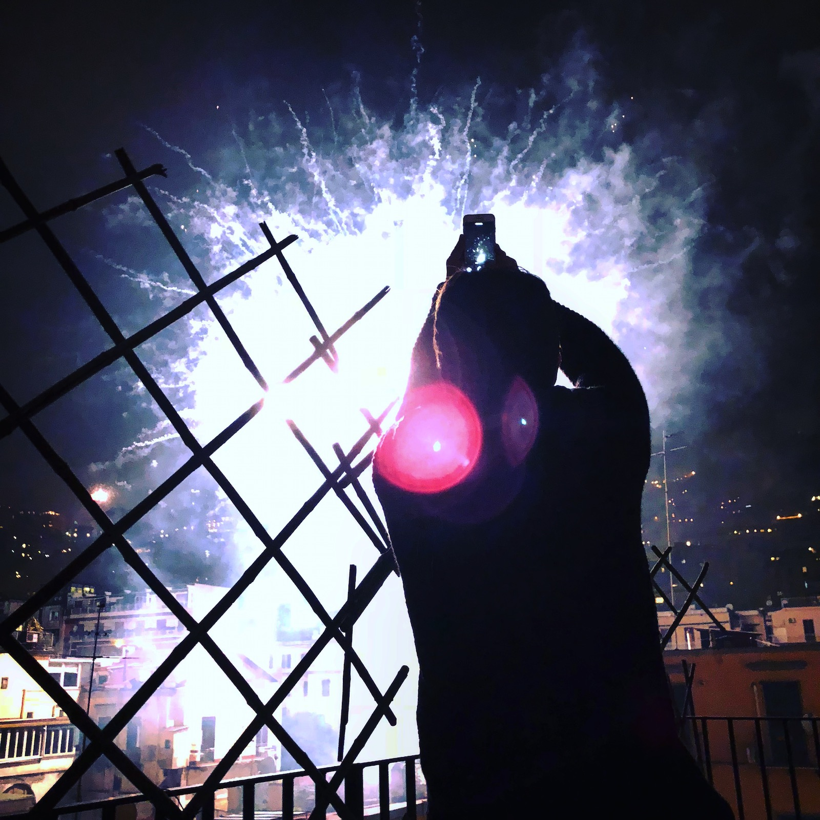 new year 2018 in Napoli