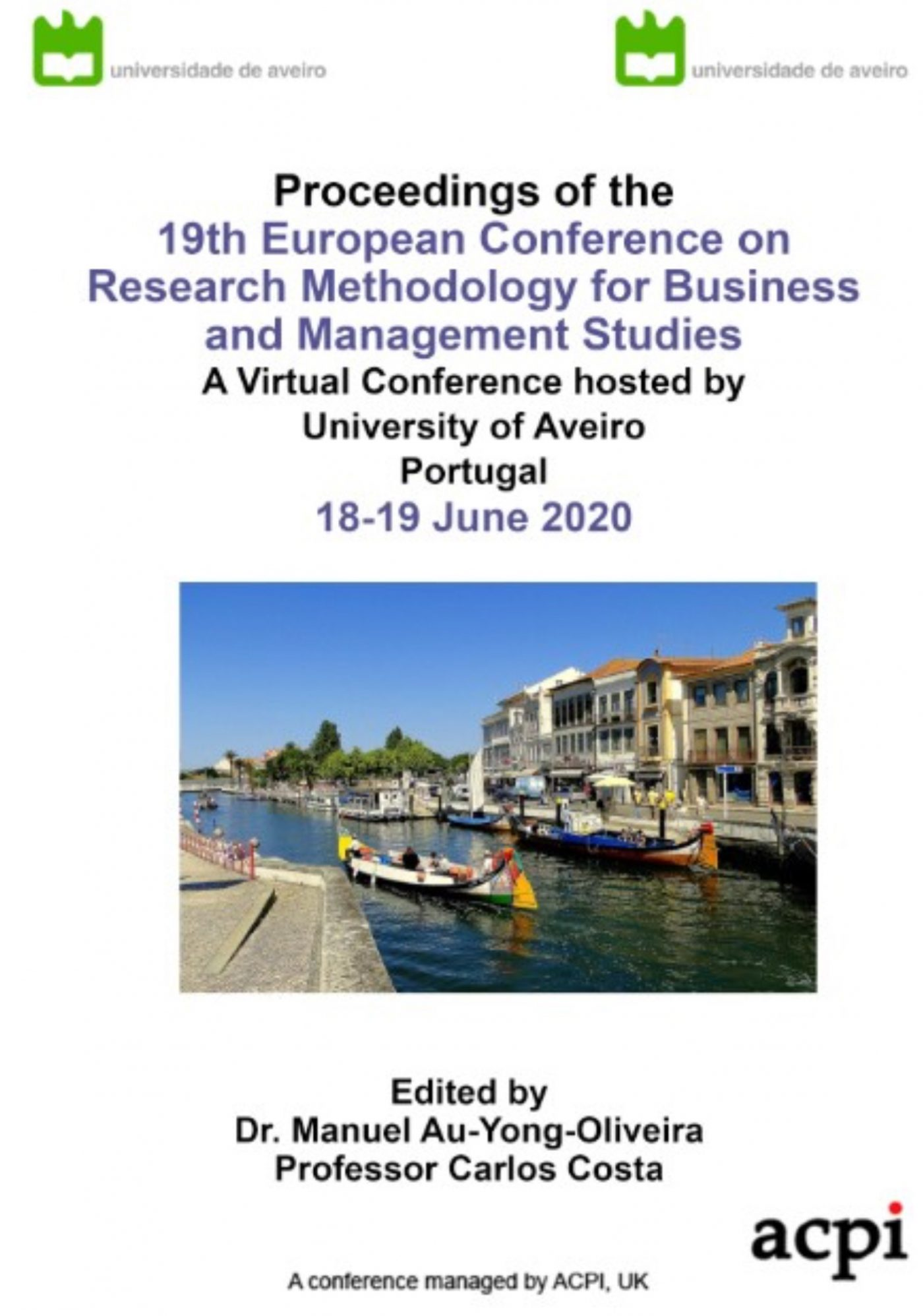 ECRM20 Conference Proceedings